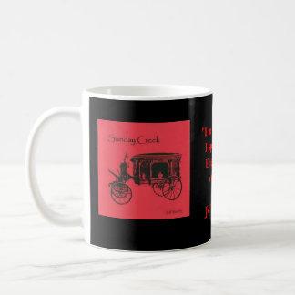 日曜日の入り江のコーヒー コーヒーマグカップ