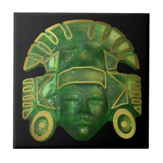 日曜日の古代アステカなマスク タイル