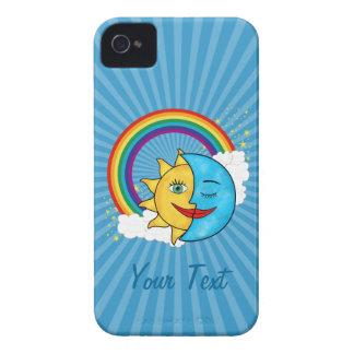 日曜日の月の虹の星 Case-Mate iPhone 4 ケース