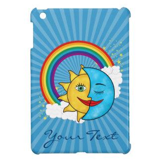 日曜日の月の虹の星 iPad MINIケース