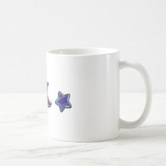 日曜日の月及び星Hの虹D E.pdf コーヒーマグカップ