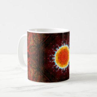 日曜日の燃焼曼荼羅 コーヒーマグカップ