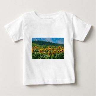 日曜日の花の分野 ベビーTシャツ