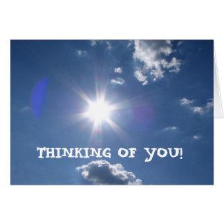日曜日の輝やき、あなたの考えること! -カスタマイズ カード