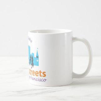 日曜日の通りのコーヒー・マグ コーヒーマグカップ