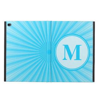日曜日の青いモノグラム POWIS iPad AIR 2 ケース