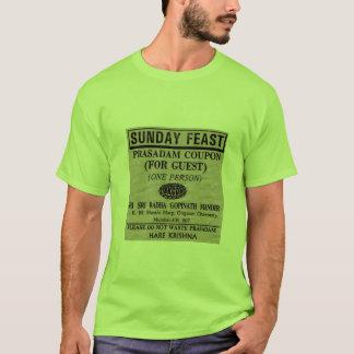 日曜日の饗宴のクーポン Tシャツ