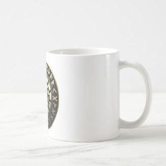 日曜日の黒い車輪 コーヒーマグカップ