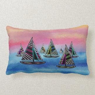 日曜日のLumbarの枕のネオン帆 ランバークッション