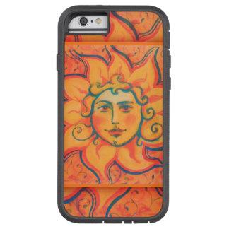 日曜日のsunface、黄橙色の赤、ファンタジーの芸術 tough xtreme iPhone 6 ケース