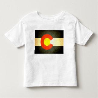 日曜日はコロラド州の旗に接吻しました トドラーTシャツ