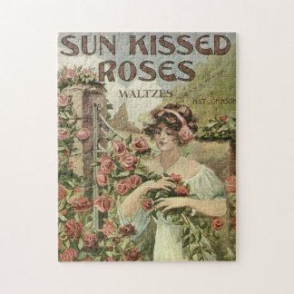 日曜日はバラのパズルに接吻しました ジグソーパズル