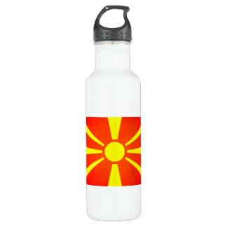 日曜日はマケドニアの旗に接吻しました ウォーターボトル