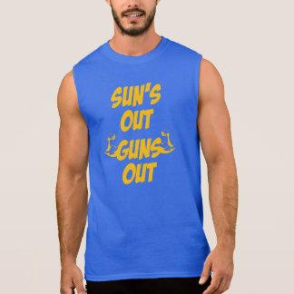 日曜日は袖なしのティーを撃ちます 袖なしシャツ