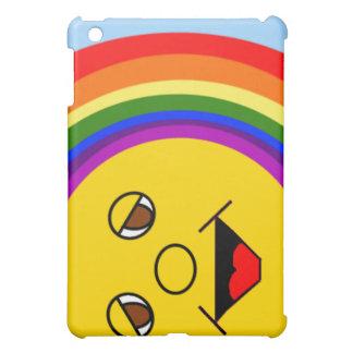 日曜日はiPadの場合直面し、虹の iPad Miniケース