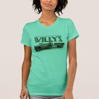 日曜日はWillysの女性の薄い色のワイシャツで決して置きません Tシャツ