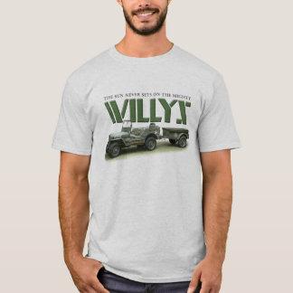 日曜日はWillysの淡色のワイシャツで決して置きません Tシャツ