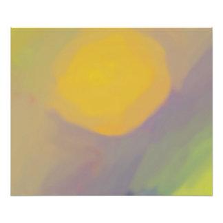 日曜日抽象的な金ポスター(24x20) フォトプリント