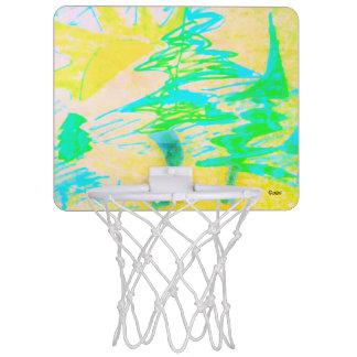 日曜日 ミニバスケットボールゴール
