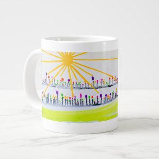 日曜日©2016の至福のコレクション ジャンボコーヒーマグカップ