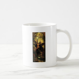 日曜日Fleethと着る女性 コーヒーマグカップ