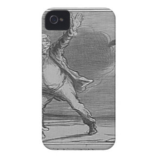 日曜日Honore Daumierを離れて行くことにするBabinet Case-Mate iPhone 4 ケース