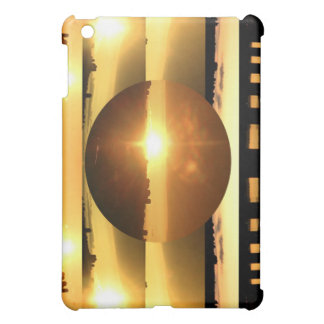日曜日nの月の芸術的な提示 iPad miniケース