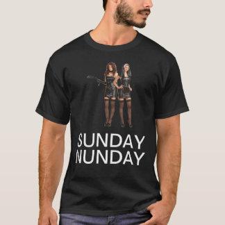 日曜日Nunday Tシャツ