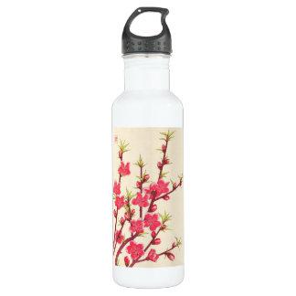 日本さくらんぼのKawarazaki Shodoの花のカレンダー ウォーターボトル