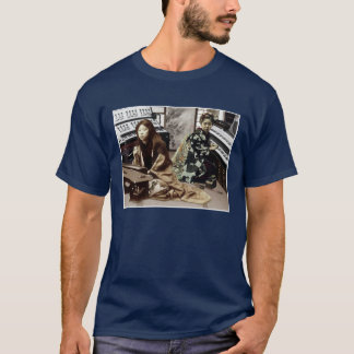 日本で大きい: 主デュオ Tシャツ