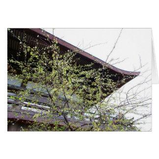 日本に来られる春 グリーティングカード
