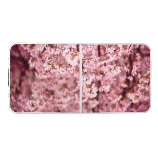 日本のなさくらんぼの花 ビアポンテーブル
