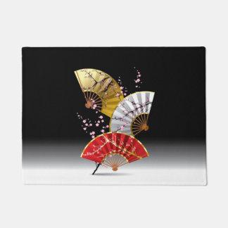 日本のなさくらんぼは玄関マットに送風します ドアマット