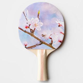 日本のなさくらんぼ-開花の桜 卓球ラケット