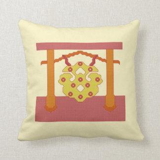 日本のなどらの頂上の枕 クッション