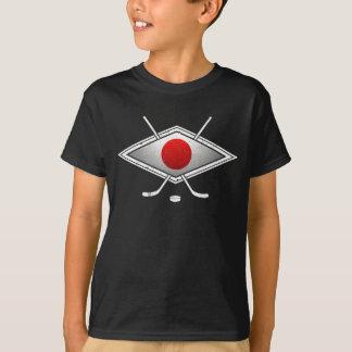 日本のなアイスホッケーのTシャツ Tシャツ