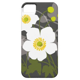 日本のなアネモネの花 iPhone SE/5/5s ケース