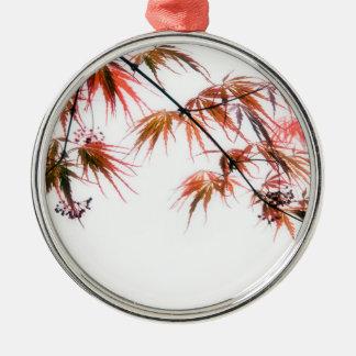 日本のなアメリカハナノキの芸術の写真撮影 メタルオーナメント