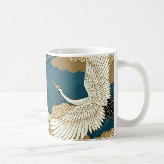 日本のなクレーン コーヒーマグカップ