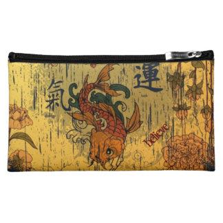 日本のなコイの魚の中型の化粧品のバッグ コスメティックバッグ