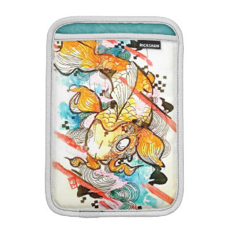 日本のなコイの魚の芸術の水彩画動物 iPad MINIスリーブ