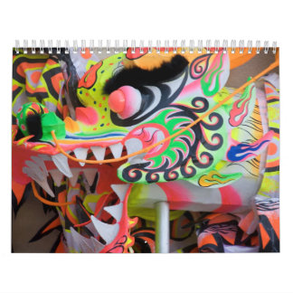 日本のなドラゴンのカレンダー カレンダー