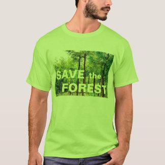 日本のなヒマラヤスギの森 Tシャツ