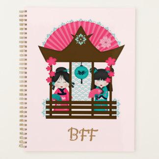 日本のなファンの女の子BFFのプランナー プランナー手帳
