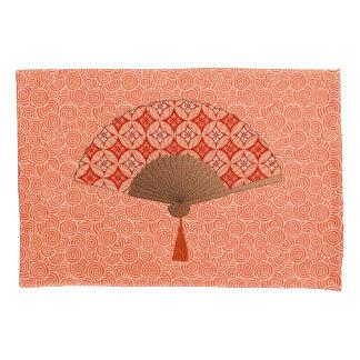 日本のなファン、Shippoのモチーフ、マンダリンオレンジ 枕カバー