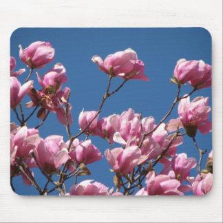 日本のなマグノリアの開花 マウスパッド