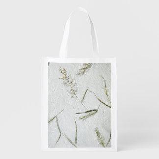日本のなライスペーパー薄い葉 エコバッグ