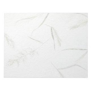 日本のなライスペーパー薄い葉 ノートパッド
