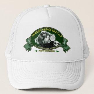 日本のなヴィンテージのバイククラブロゴの帽子 キャップ