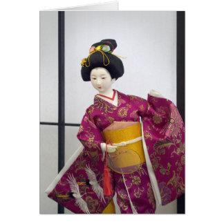 日本のな人形 カード